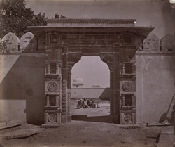 Gateway to Padmini's Palace, Chittaurgarh